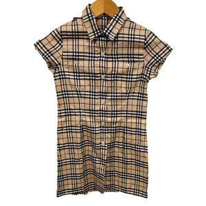 Burberry Girl's Nova Check Plaid DressSize 8EUC